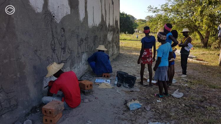 เฟอนันโด มาลาเต้ หนุ่มสลัมมาปูโตกับผลงานศิลปะ Unique ที่ฝากไว้ ณ สถานทูตไทยใน โมซัมบิก, mozambique