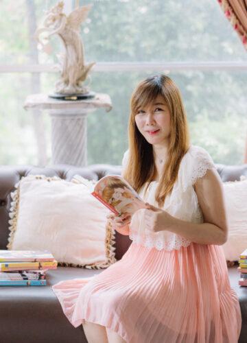 แสตมป์เบอรี่ จากนักเขียนนิยาย Love Series คนแรกของ สนพ.แจ่มใส สู่บทบาทใหม่ 'นักเขียนบทเกม', พิไลมาศ ค้ำชู