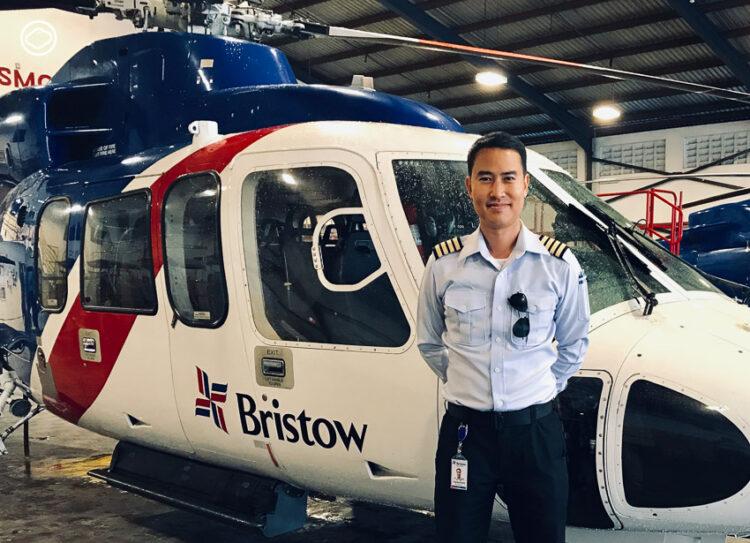 ธราพงษ์ รุ่งโรจน์ นักบินเฮลิคอปเตอร์ไทยกับชีวิตในประเทศที่นักบินต่างชาติถูกลักพาตัว, อาชีพนักบิน