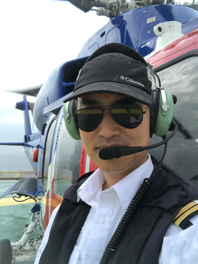 นัทแนะ ธราพงษ์ รุ่งโรจน์ นักบินเฮลิคอปเตอร์ไทยกับชีวิตในประเทศที่นักบินต่างชาติถูกลักพาตัว, อาชีพนักบิน
