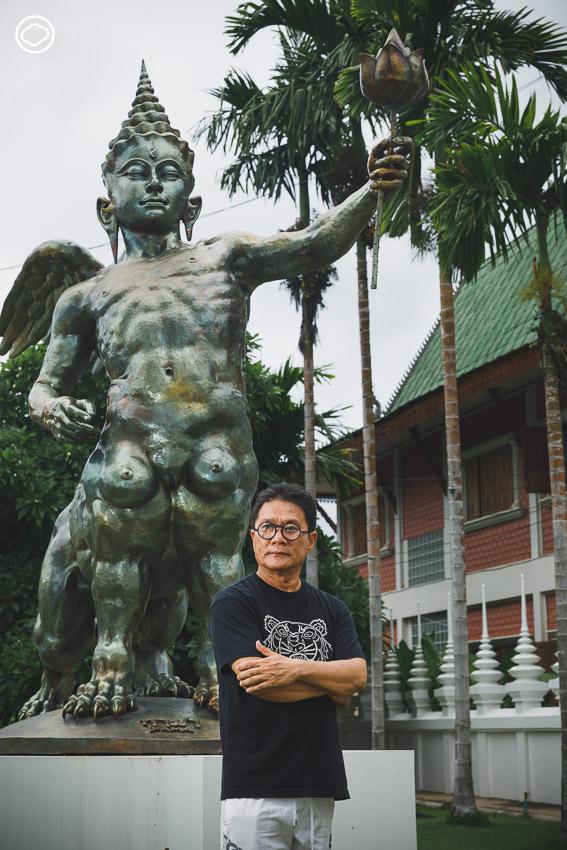 บนถนนศิลปินของ ธงชัย ศรีสุขประเสริฐ กับการพาศิลปะกลับบ้านเกิดและเปิดหอศิลป์