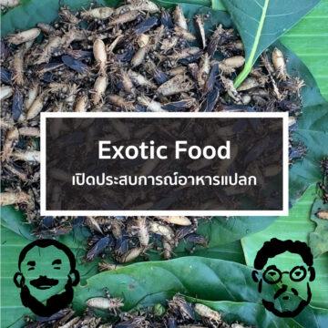EP. 27 Exotic Food เปิดประสบการณ์อาหารแปลก