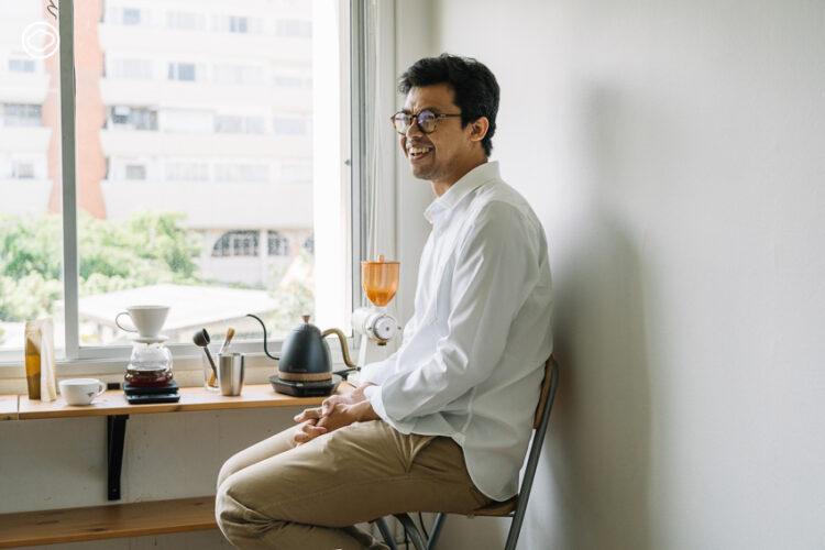 ฟูอาดี้ พิศสุวรรณ ทำความเข้าใจการเมืองและสังคมไทยผ่านบทบาทนักพัฒนากาแฟ, พรรคประชาธิปัตย์