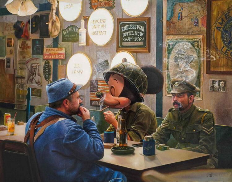 สงคราม เพศ ศาสนา และความรัก ในทรรศนะของจิตรกรชายข้ามเพศ ไจโกะ-วีรญา ยามันสะบีดีน