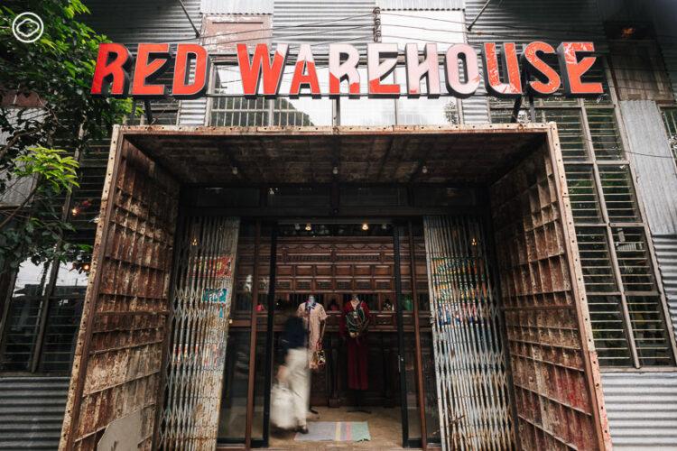Red Warehouse by FLYNOW พื้นที่สร้างสรรค์แห่งใหม่ของช่างชุ่ยที่ผสานคนรุ่นใหม่ ศิลปะ แฟชั่น ไว้ในโกดังสีแดง ของ ลิ้ม-สมชัย ส่งวัฒนา