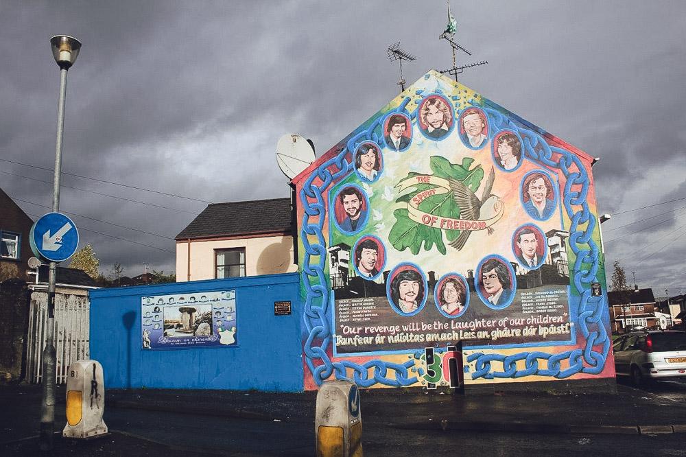 ร่องรอยความขัดแย้งระหว่างศาสนาคริสต์สองนิกายที่เชื่อไม่เหมือนกันใน ไอร์แลนด์เหนือ
