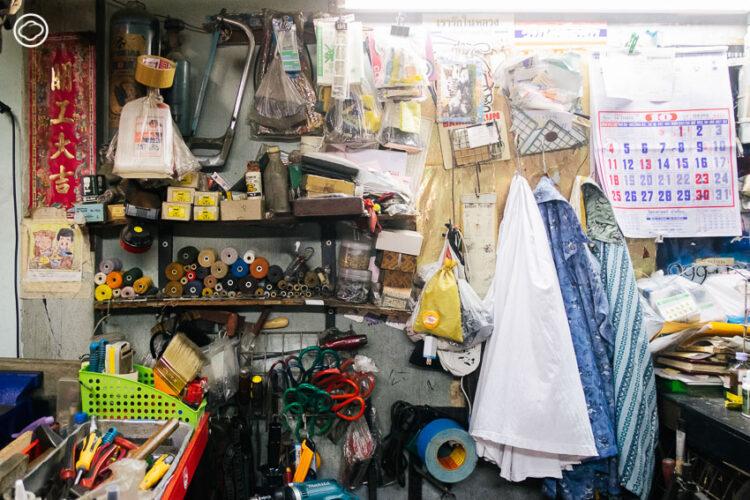 9 ร้านซ่อมรอบกรุง ที่เปลี่ยนกุญแจ นาฬิกา พิมพ์ดีด และสารพัดของเสียให้กลับมา Spark Joy อีกครั้ง, กิจสงวนพานิช ซ่อมกระเป๋าเดินทาง