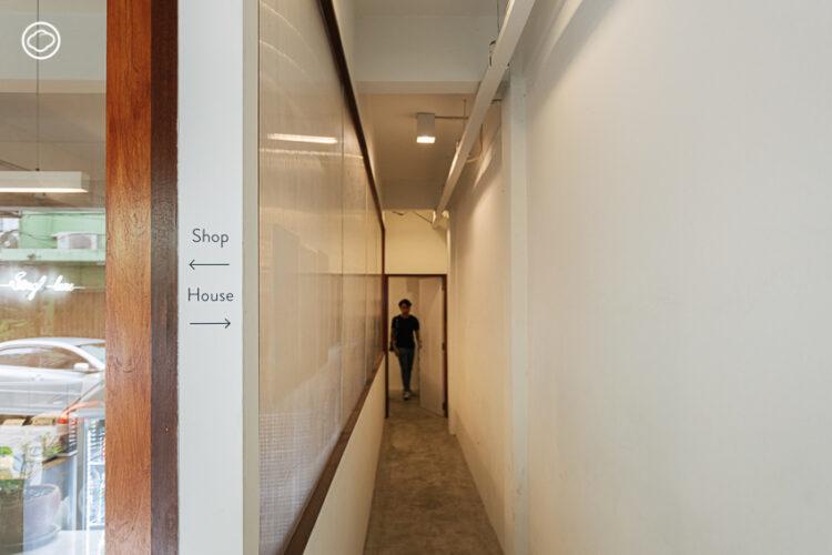 Shophouse 26 เปลี่ยนตึกแถวย่านพระโขนงเป็นที่พักสี Pantone ให้คนมานั่ง-นอน-เสพงานดีไซน์