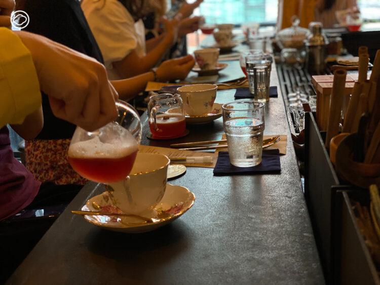 จิบนมถั่วเหลืองคู่ชาเบลนด์ชูกลิ่นหอม ดื่มด่ำประสบการณ์ TE Omakase สุดกลมกล่อมครั้งแรก
