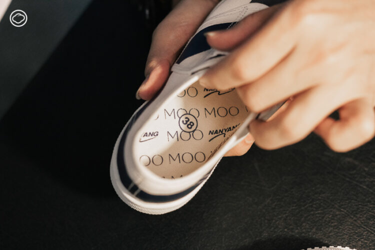 MOO x Nanyang งานคอลแลบที่พารองเท้านักเรียนเข้ามาในโลกแฟชั่นผู้ใหญ่และย้อนเวลาไปพร้อมกัน, หมู-พลพัฒน์ อัศวะประภา