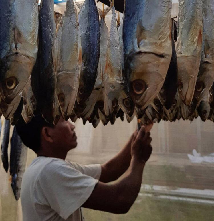 หิว Hungry.hc : สองพี่น้องกลับบ้านมาทำแบรนด์ปลาทูต้มหวานจากทะเลชุมพรจนไปไกลถึงอเมริกา, มะเหมี่ยว-นัฐยา อุสายพันธ์ และ หมิว-โสมประภา อุสายพันธ์