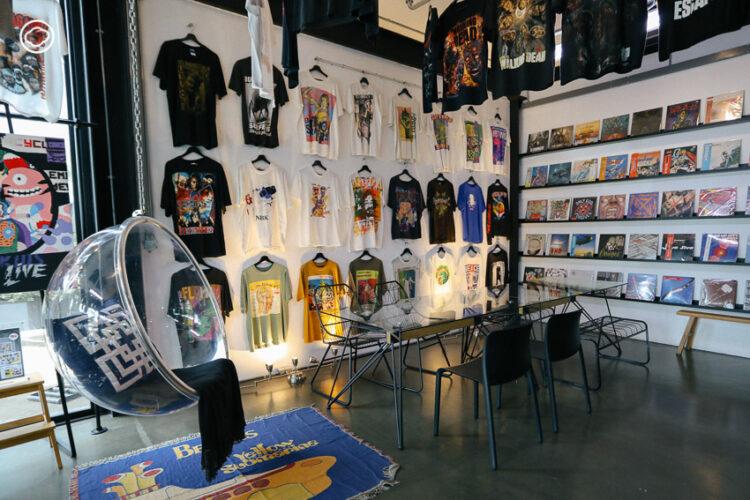 Museum of TEEs Thailand พิพิธภัณฑ์เสื้อยืดที่มีตั้งแต่ Street Brand จนถึงเสื้อวงราคาหลักล้าน