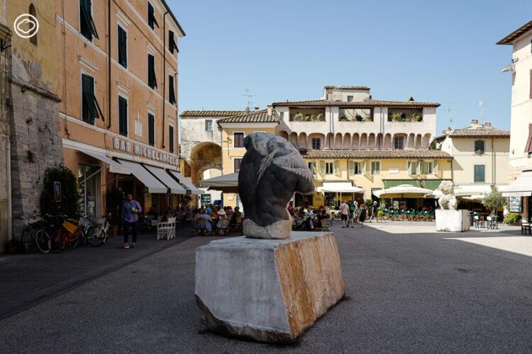 'รอยสักอาชญากร' ที่สร้างบุคลิกใหม่ให้ประติมากรรมศักดิ์สิทธิ์รอบจัตุรัสเมือง Pietrasanta, Fabio Viale