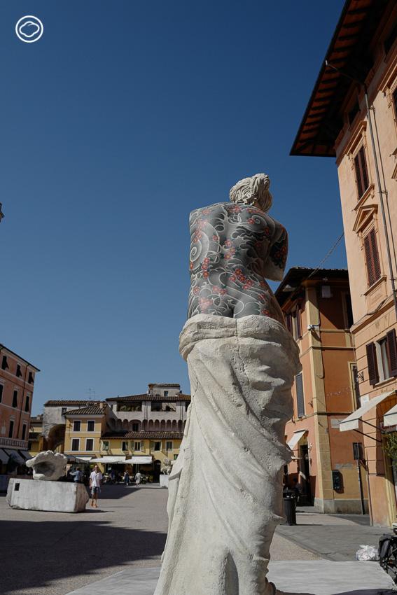 'รอยสักอาชญากร' ที่สร้างบุคลิกใหม่ให้ประติมากรรมศักดิ์สิทธิ์รอบจัตุรัสเมือง Pietrasanta, Fabio Viale, Venus de Milo