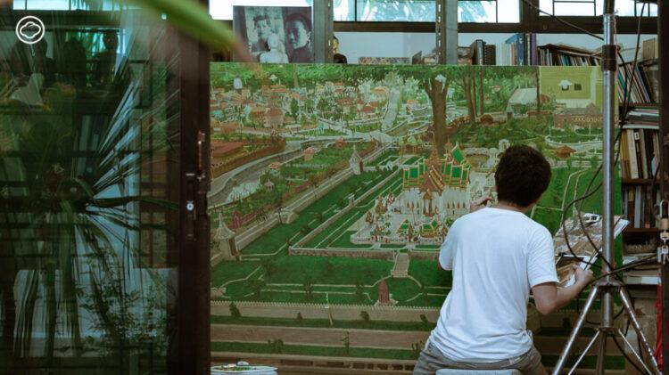Bangkok Art Biennale 2020, Prateep Suthatongthai