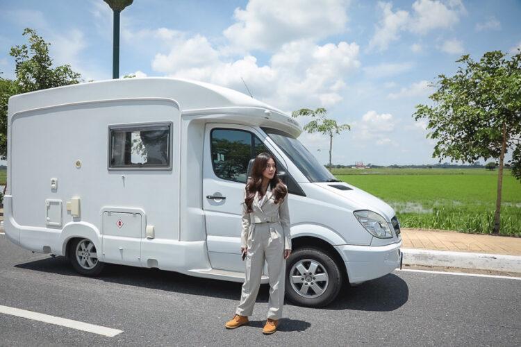 รถบ้าน, Campervan, Camping