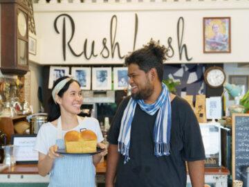Rush Lush คราฟต์คาเฟ่กลางสุโขทัยที่เสิร์ฟเมนูจากวัตถุดิบท้องถิ่นเพียงสัปดาห์ละ 3 วัน