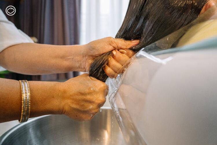 Shirodhara หยดน้ำมันอุ่นบนหน้าผาก บำบัดความเครียดตามศาสตร์เก่าแก่แห่งชมพูทวีป