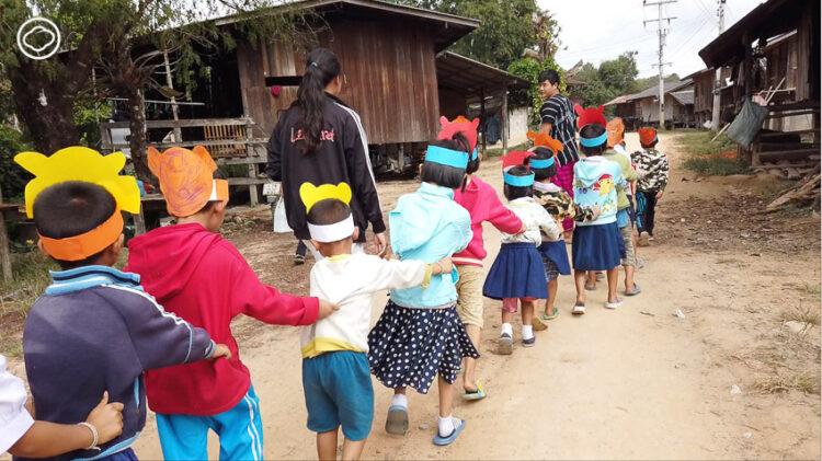 ทัวร์เรียน : หลักสูตรเดินทางเรียนตามอัธยาศัยของน่านกับกาญจน์ที่คืนโอกาสเด็กชาติพันธุ์