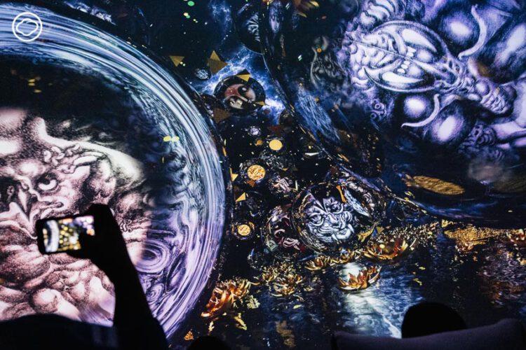 Immersive Art of Thawan Duchanee นิทรรศการศิลปะที่ใช้เทคโลยีแปลงผลงานของ อ.ถวัลย์ ดัชนี สู่มิติใหม่
