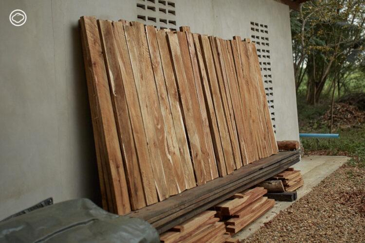 Jird Design Gallery แบรนด์เฟอร์นิเจอร์ที่ชุบชีวิตที่ 3 ให้ไม้เก่าและปลูกป่าใหม่ไว้ใช้ในอีก 20 ปี