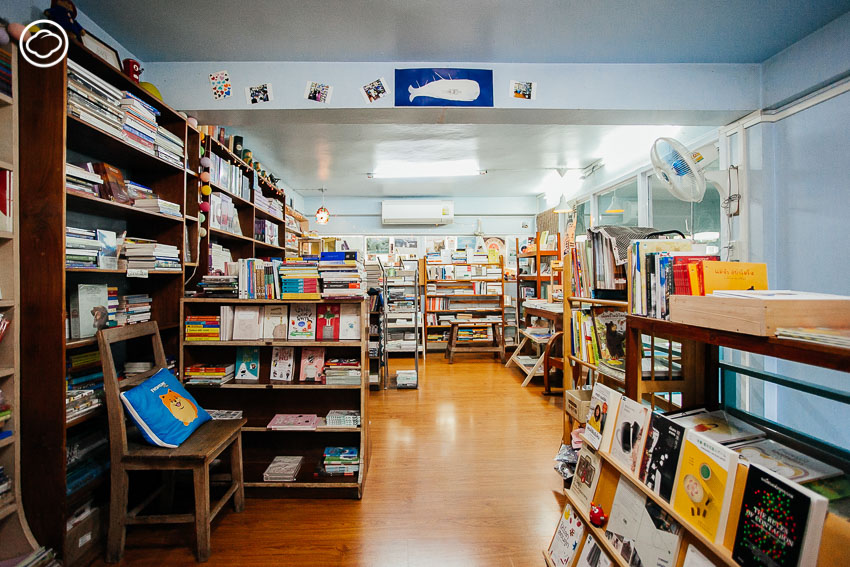 ร้านหนังสืออิสระแห่งเดียวของลำปางในคลินิกรักษาสัตว์