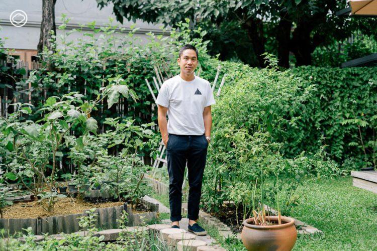ทายาทรุ่น 3 ผู้ต่อยอดสวนสามพราน สู่ฟาร์มออร์แกนิกและคาเฟ่ออร์แกนิก Patom Organic Living