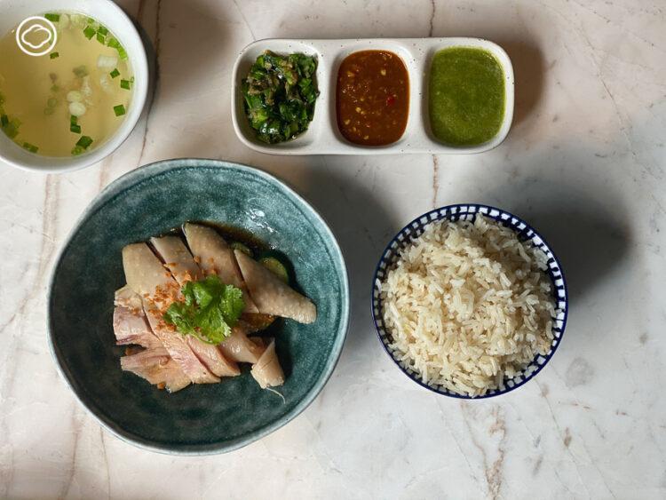 ข้าวมันไก่เบตง จางเจียหยี หนึ่งเดียวในซอยอารีย์ที่ใช้ไก่เบตงพันธุ์แท้มาทำข้าวมัน