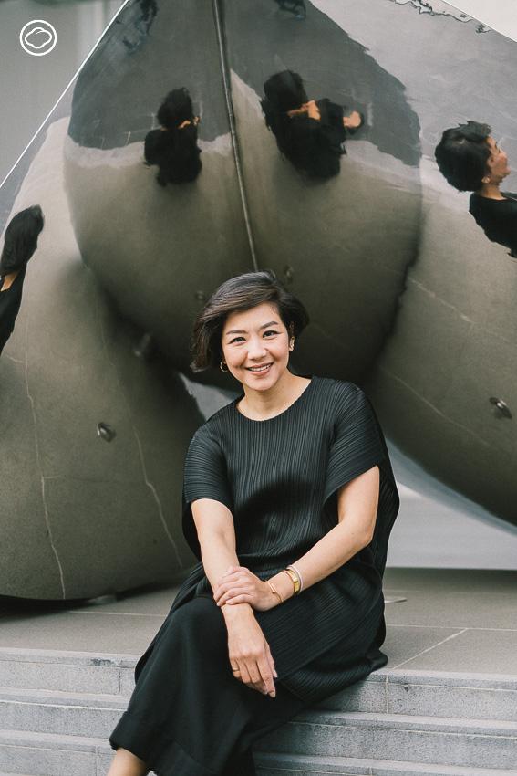 จรินทร์ทิพย์ ชูหมื่นไวย ผู้บริหาร Art&Culture บ.มหาชนที่อยากเห็นศิลปะไม่มีรั้วและป้ายห้ามจับ