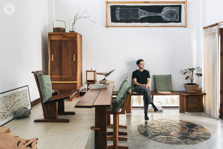 Nakornsang studio สตูดิโอและบ้านทำมือไซส์อบอุ่นของช่างไม้ 'แอ็ค-ชานนท์ นครสังข์'
