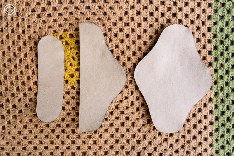 เย็บ ปัก ถัก ร้อย ผ้าอนามัยซักได้ที่ทำตามได้ง่ายๆ โดยไม่ต้องใช้จักร