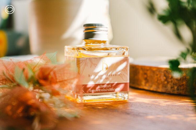 Buriram Blossom : ใบยางพาราอโรม่าปรับอากาศ