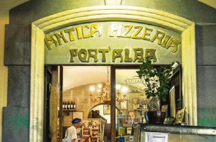 Antica Pizzeria Port'Alba ร้านพิซซ่าร้านแรกของอิตาลี