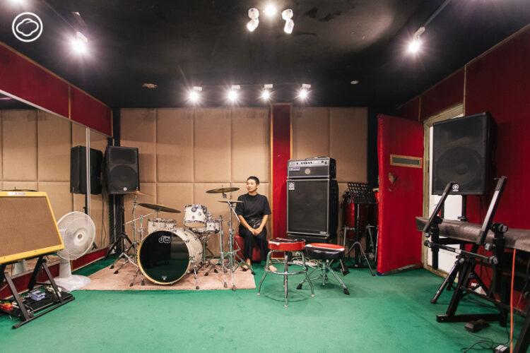 MusicGroup ห้องซ้อมดนตรีในตำนานที่เป็นที่รักมา 34 ปี ตั้งแต่เบิร์ด ธงไชย ถึง Three Man Down