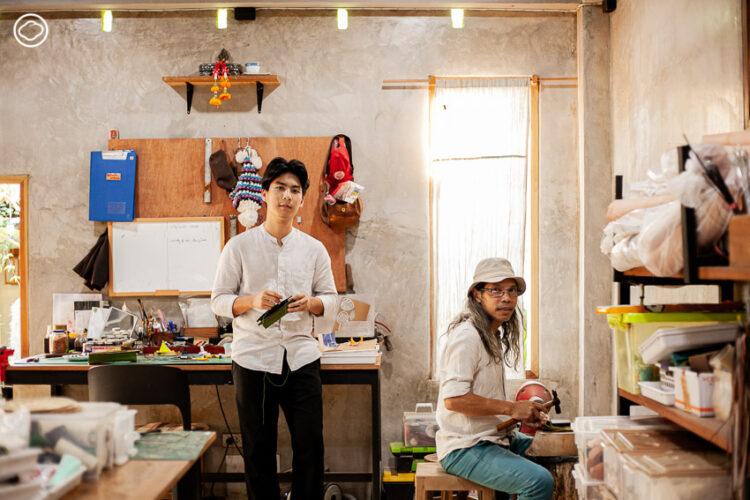 Papacraft แบรนด์เครื่องหนังเก๋จากลำปางที่ได้แรงบันดาลใจจากพันธุ์ไม้ จนขายดีในหมู่ชาวจีน เกาหลี และญี่ปุ่น