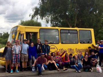 The Big Lemon รถเมล์พลังงานแสงอาทิตย์เจ้าแรกของอังกฤษที่บริหารโดยชุมชน เพื่อชุมชน