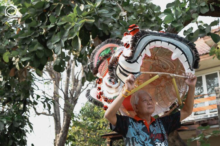 โจ ตลาดพลู ช่างทำหัวสิงโตให้ศาลเจ้าไทย ฮ่องกง เวียดนาม และออกคำรามถึงสิงคโปร์