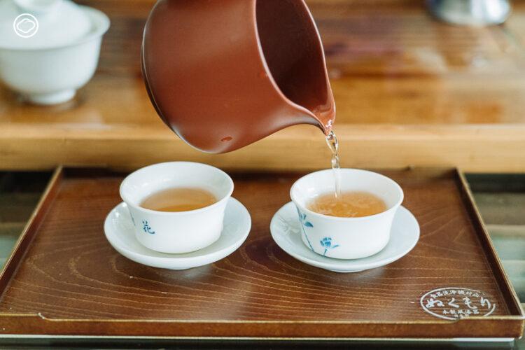 ใบชาคุณภาพเลิศของ 'อ๋องอิวกี่' ร้านชาเก่าแก่ประจำแยกสี่กั๊ก