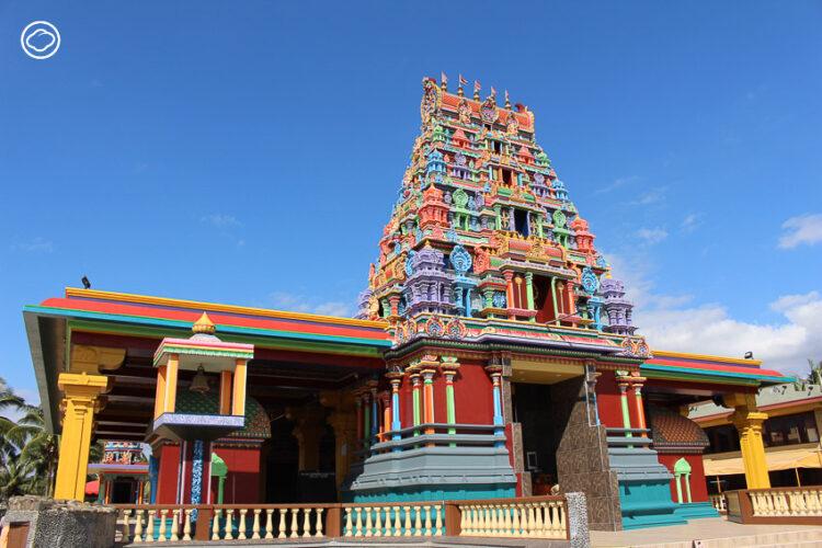 เทวาลัยประธาน Sri Siva Subrahmaniya Swami Temple ศิลปะอินเดียภาคใต้