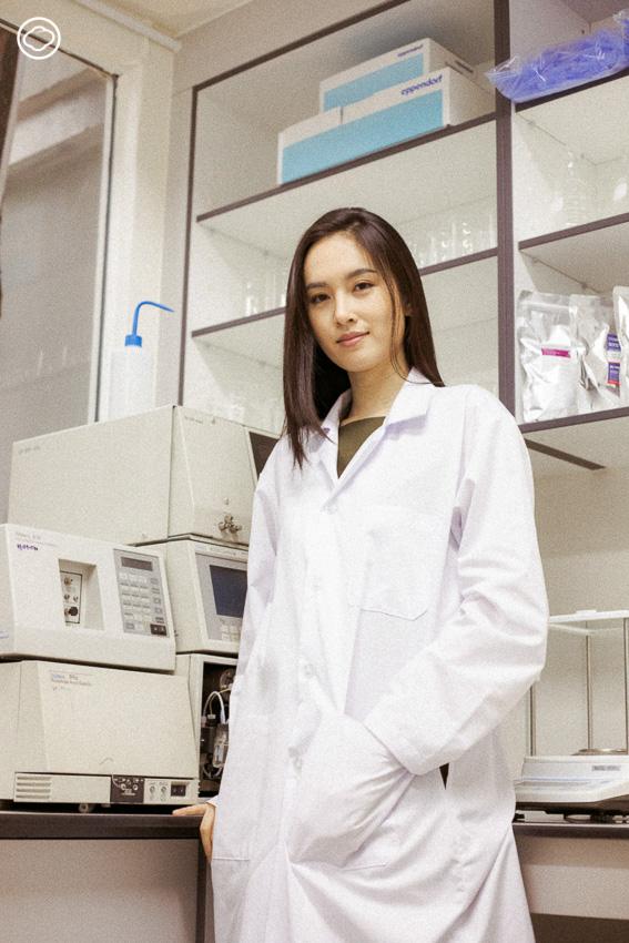 ปอย ตรีชฎา กับบทบาทนักวิจัยด้านพันธุศาสตร์ระดับโมเลกุล  และเจ้าของแล็บผู้สร้างนวัตกรรม Biotech