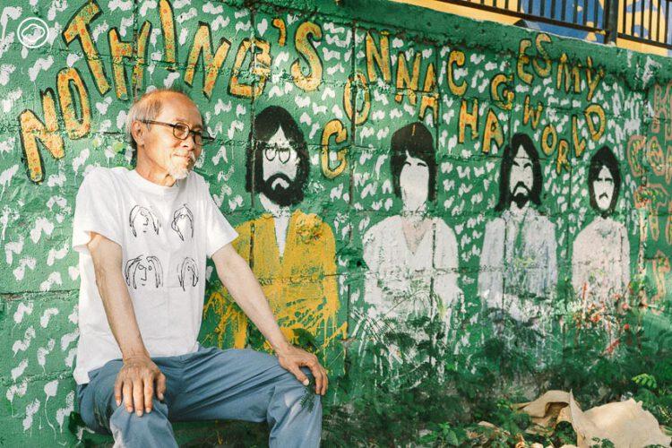 นักสะสม The Beatles ตั้งแต่ใบไม้จากบ้านสี่เต่าทอง ถึงสร้างสวนศิลปะบีทเทิลส์ข้างบ้าน
