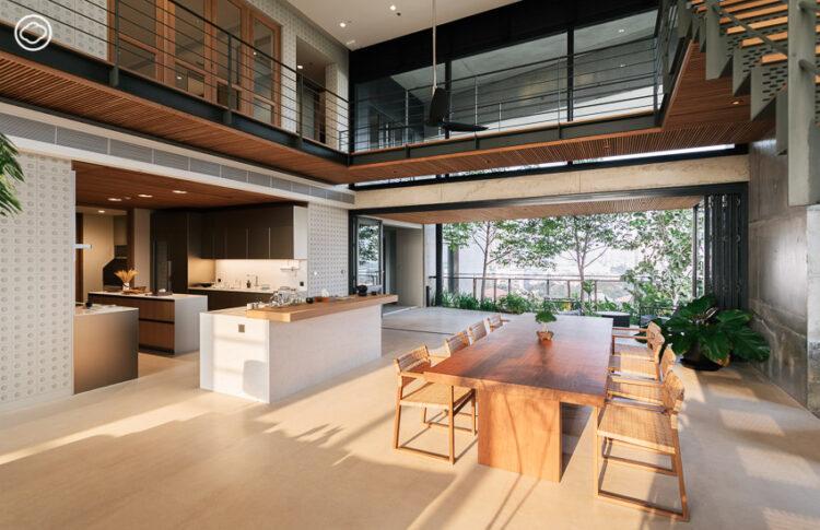 WINDSHELL โครงการบ้านแนวตั้งเดียวของไทยที่ออกแบบให้รับลมธรรมชาติตลอดปีและมีพื้นที่หลังบ้าน
