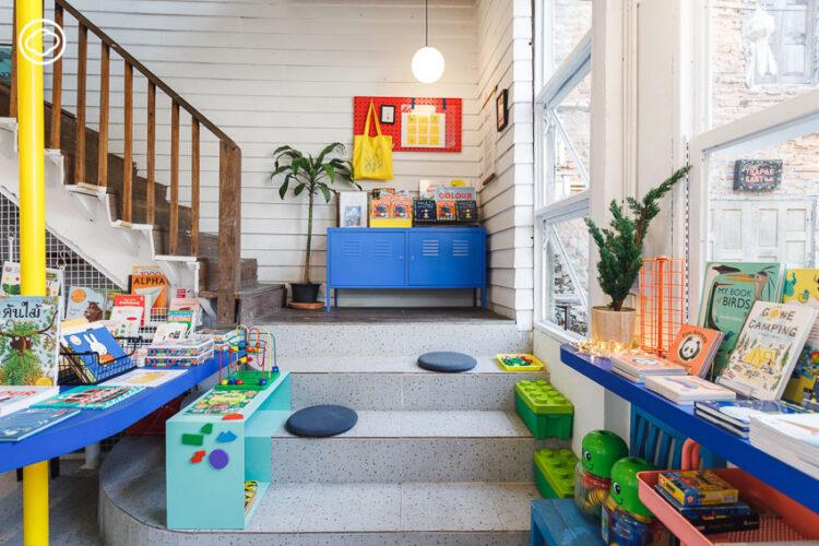 Baka-Nok แม่ทำห้องสมุดให้ลูกสาวจนกลายเป็นร้านหนังสือเด็กหนึ่งเดียวของเชียงใหม่