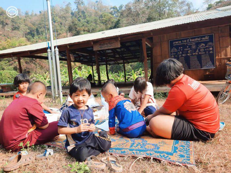 เรื่องเล่าของบัณฑิตอาสาสมัคร ณ บ้านแม่ลามาน้อย หมู่บ้านเล็กๆ กลางหุบเขาแม่ฮ่องสอน