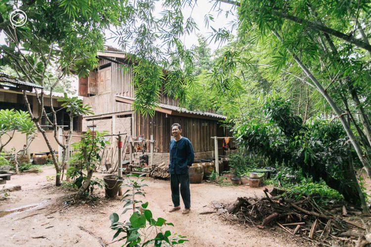 บ้านสวนป่าลำพูนของ อ.จุลพร นันทพานิช ที่ออกแบบโดยมีธรรมชาติเป็นผู้ว่าจ้าง