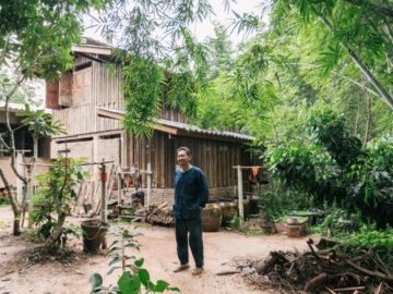 บ้านสวนป่าลำพูนของ อ.จุลพร นันทพาณิช ซึ่งออกแบบโดยมีธรรมชาติเป็นผู้ว่าจ้าง
