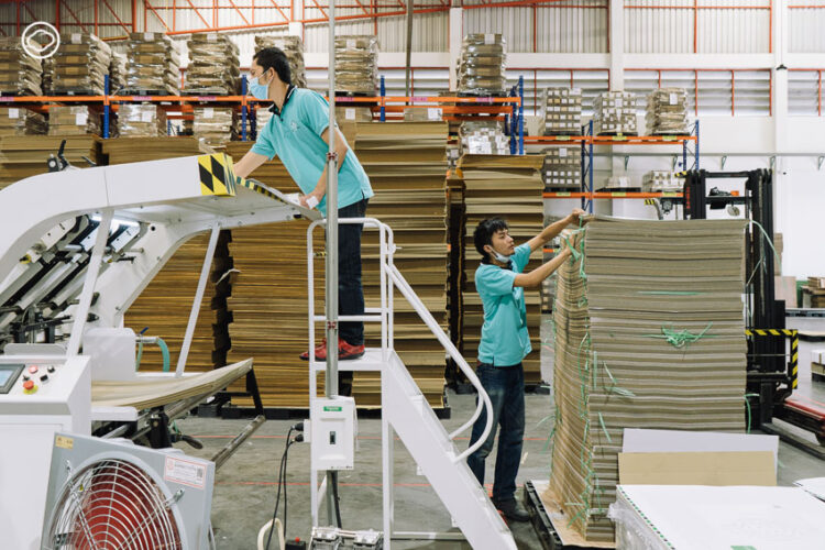 Pick a Box ทายาทรุ่นสองโรงงานกล่องลัง กับการสร้างธุรกิจใหม่ในวิกฤตโดยการบริหารแบบบ.มหาชน