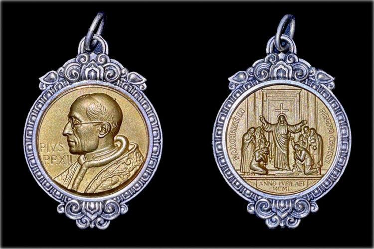 สืบร่องรอยฝีมือ ศิลป์ พีระศรี บนเหรียญที่ทำให้พระสันตะปาปา Pius Xll ปีศักดิ์สิทธิ์ 1950