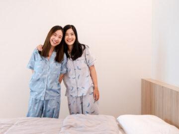 Slip to Sleep แบรนด์ชุดนอนเพื่อผู้หญิง ไม่ต้องใส่บราและหลับสบายด้วยสีสันบำบัด