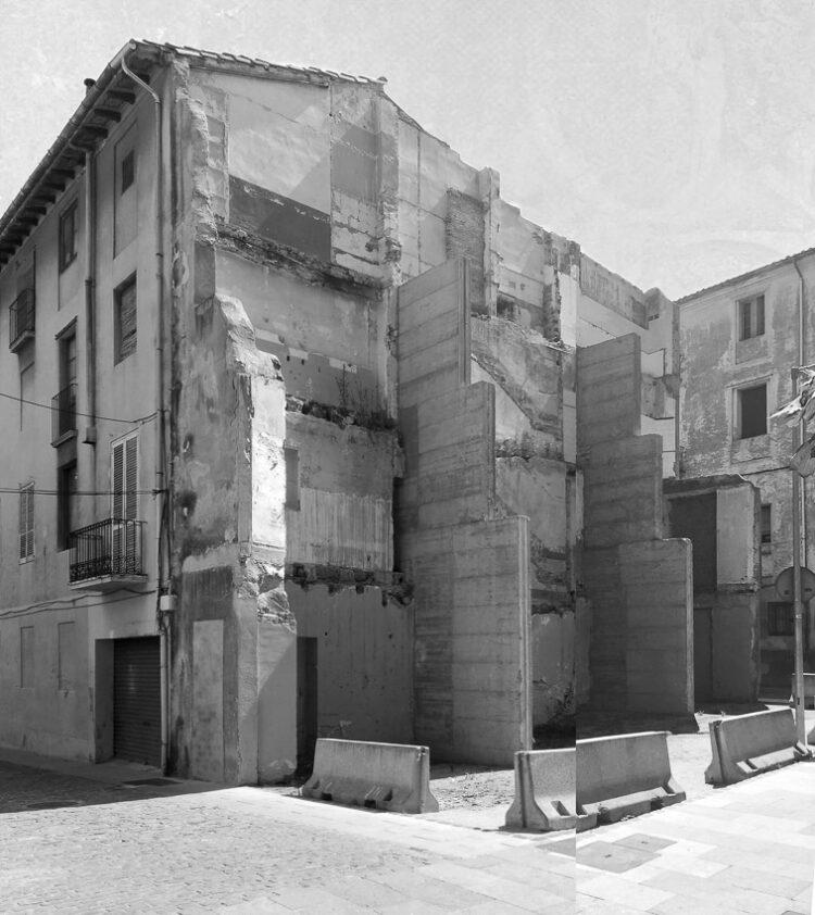 ค.ศ. 2018 เทศบาลเมืองอูล็อต Can Sau. Emergency Scenery แห่งเมืองเก่าแก่นาม Olot (อูล็อต) พื้นที่สาธารณะ ประเทศสเปน